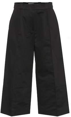 Marni Cotton twill wide-leg pants