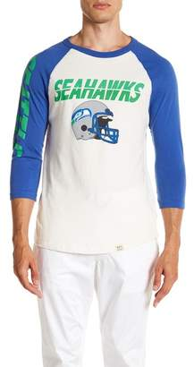Junk Food Clothing Seattle Seahawks All American Raglan Shirt