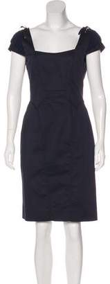 Zac Posen Cap Sleeve Mini Dress