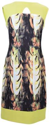 Frank Lyman Abstract Citrus Dress