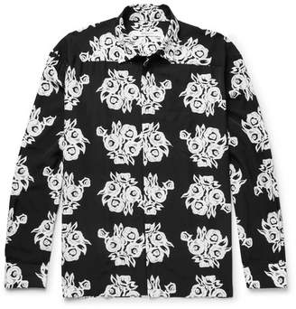 Givenchy Floral-Print Woven Shirt