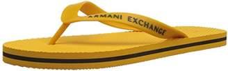 Armani Exchange A|X Men's Classic Flip Flop Logo