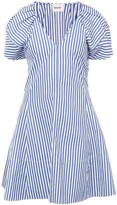 DAY Birger et Mikkelsen Khaite striped flared mini dress