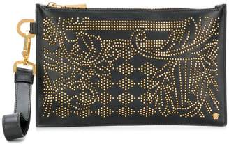 Versace embellished clutch