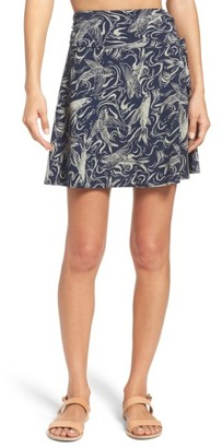Women's Patagonia Lithia Cotton Blend Skirt $49 thestylecure.com