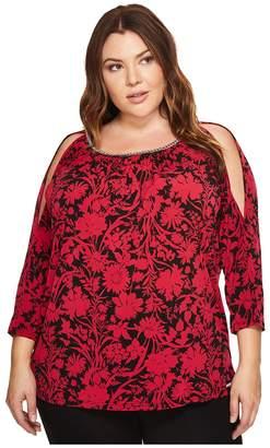 MICHAEL Michael Kors Size Garden Chain Cold Shoulder Women's Clothing