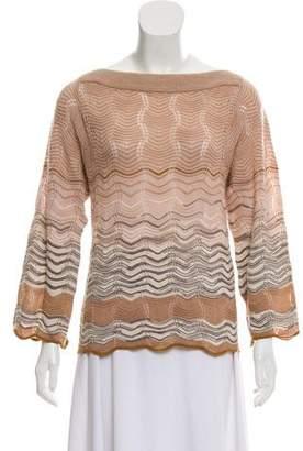 Missoni Crocheted Wool Sweater