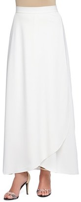 Catherine Catherine Malandrino 'Marlena' Faux Wrap Maxi Skirt $98 thestylecure.com