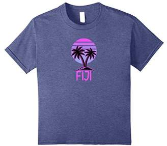 Fiji Vintage Retro T-Shirt 70s Throwback