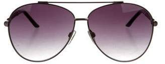 Just Cavalli Metallic Aviator Sunglasses
