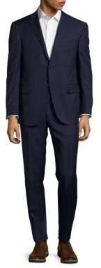 CornelianiPinstripe Regular-Fit Virgin Wool & Cashmere-Blend Suit