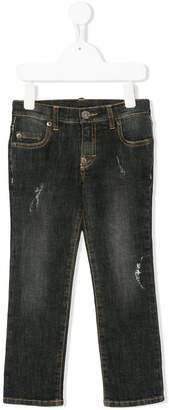 Douuod Kids distressed jeans
