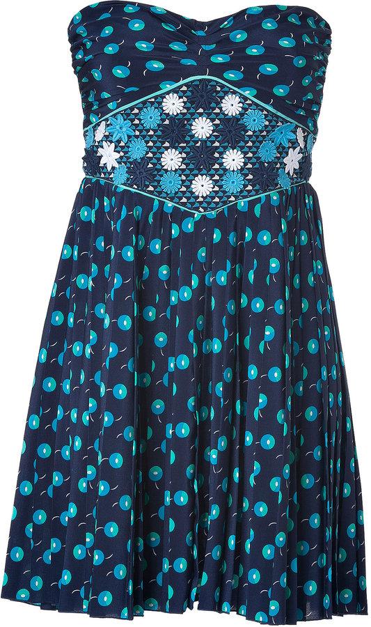 Vanessa Bruno Strapless Dress