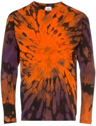 c701949b0f4 Stain Shade tie-dye print long-sleeved cotton T-shirt
