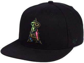 '47 Los Angeles Angels Camfill Neon Snapback Cap