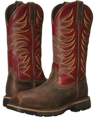 Ariat Workhog Wide Square Toe Tall II Compositie Toe Men's Work Boots