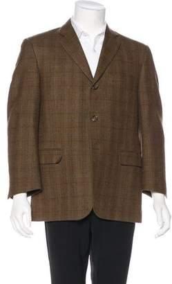 Burberry Plaid Wool Sport Coat