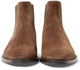 Givenchy Suede Chelsea Boots - Men - Chocolate