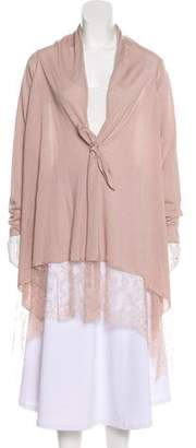 Valentino Wool & Silk Knit Cardigan
