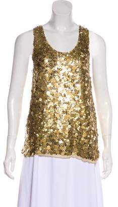 Proenza Schouler Embellished Sleeveless Top