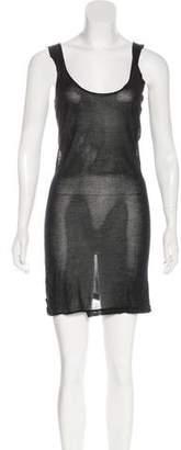 Helmut Lang Silk Knit Dress