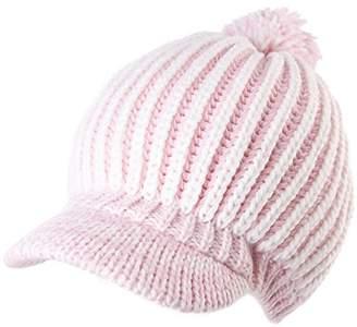 Siggi Acrylic Knitted Newsboy Cap Beanies Visor Bill Cold Weather Winter Hat Ladies Beret