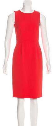 HUGO BOSS Boss by Sleeveless Crepe Dress
