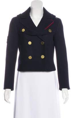 Tibi Wool Admiral Coating Peacoat w/ Tags