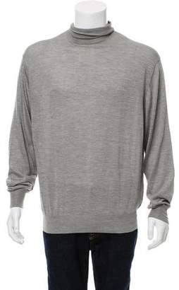 Ralph Lauren Purple Label Silk Turtleneck Sweater