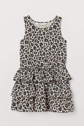 H&M Tiered jersey dress