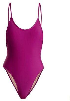 Adriana Degreas Le Fleur Swimsuit - Womens - Purple