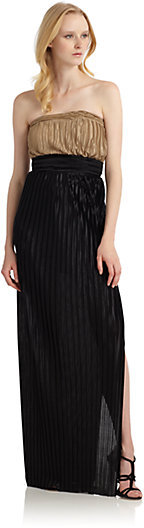 Holly Pleated Maxi Dress