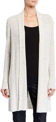 Eileen Fisher Speckled Organic Cotton Kimono Cardigan