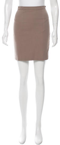 Alexander Wang T by Alexander Wang Zip-Accented Mini Skirt