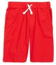 Andy & Evan Toddler's& Little Girl's Twill Drawstring Shorts