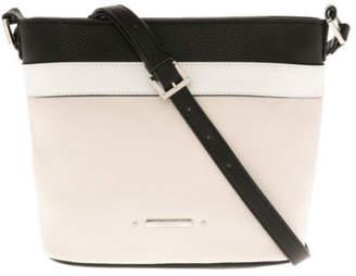 Basque NEW Josie Zip Top Crossbody Bag BHL101 Beige