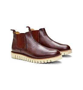 Calibre Rubber Sole Leather Boot