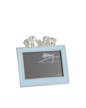 "Michael Aram Boys' Elephant 4"" x 6"" Picture Frame, Blue"