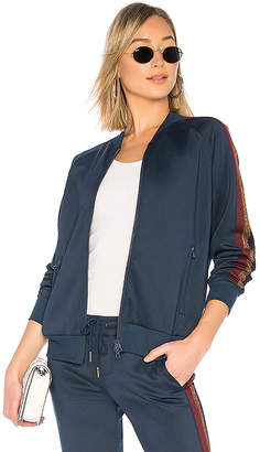 Pam & Gela Track Jacket With Lurex Stripe