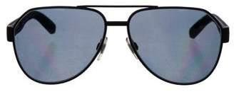 Dolce & Gabbana Polarized Aviator Sunglasses
