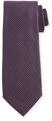 TOM FORD Textured Solid Silk Tie $250 thestylecure.com