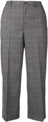 Liu Jo check cropped trousers
