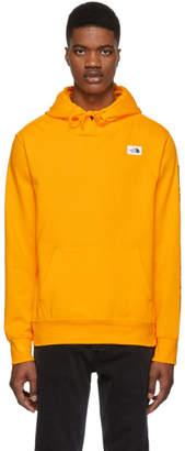 The North Face Orange Training Logo Hoodie