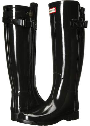 Hunter Refined Back Strap Gloss Women's Rain Boots