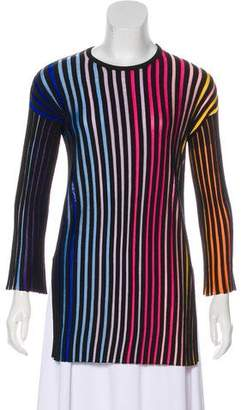 Kenzo Long Sleeve Rib Knit Tunic