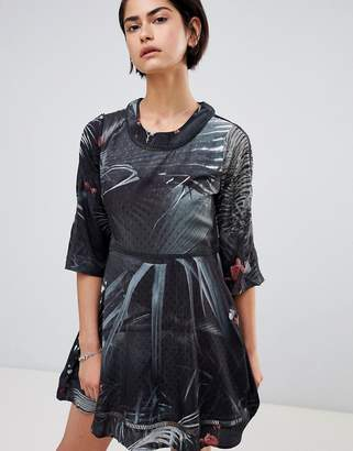 Religion Transit Tea Dress