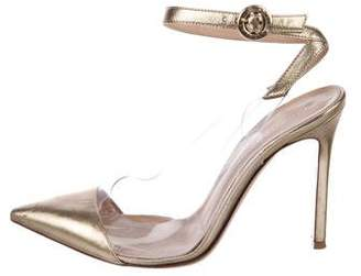 Gianvito Rossi Anise PVC Pumps