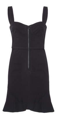 Isabel Marant Jayme Bustier Cotton-Blend Mini Dress