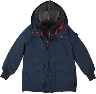 AI Riders On The Storm Water Resistant Nylon Puffer Coat