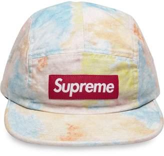 Supreme Multicolor Denim Camp Cap
